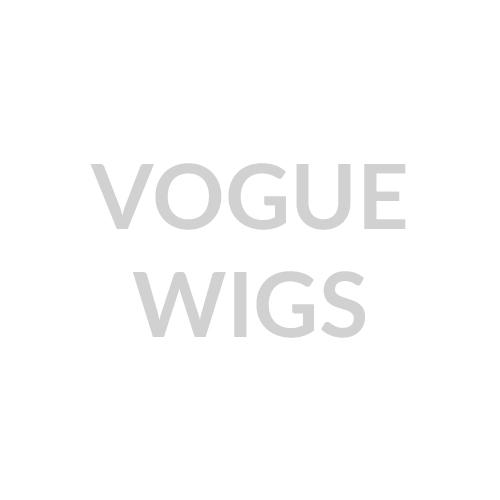 Lace Brazilian Curl Human Hair Blend Wig